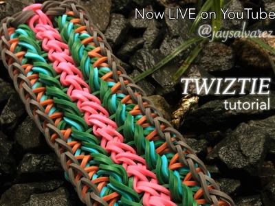 TWIZTIE Rainbow Loom bracelet tutorial