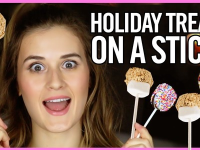 3 Easy DIY Holiday Treats With ThatGibsonGirl18!