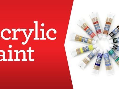 Art Supply Basics: Acrylic Paint