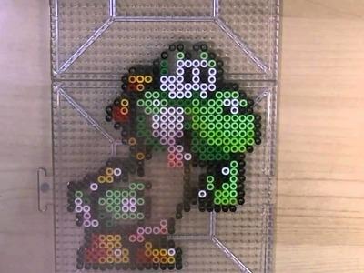 BEAD ART: Yoshi! (Giveaway)