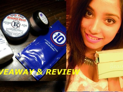 Beautybox5 review and winner announcement of hair styling tool giveaway.