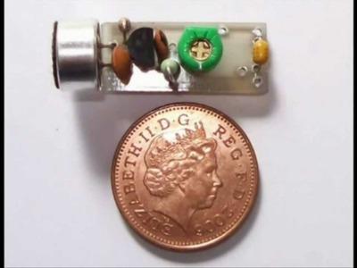 Building a super spy bug transmitter