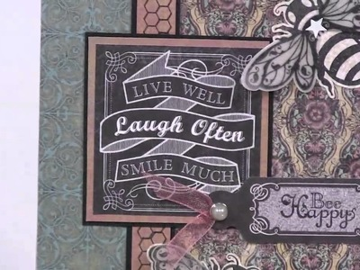 Chalkboard & Pretty Little Posies - Paper Wishes Weekly Webisodes
