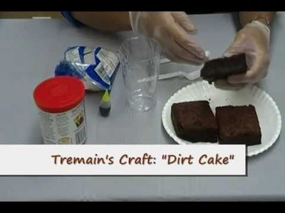 Crafty Creations #27: Edible Dirt and Worms & Dirt Cake Surprise
