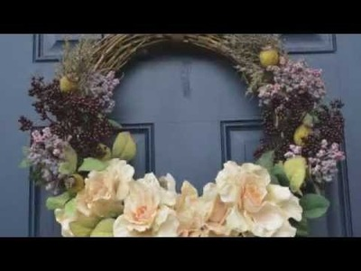 DESIGN AND CREATE A WREATH FOR YOUR DOOR