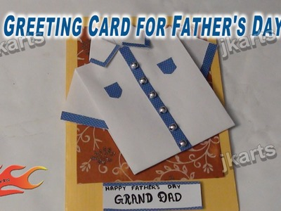 DIY Greeting Card for Father's Day - JK Arts 245