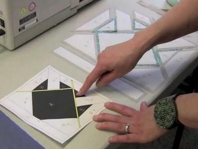 Freezer Paper-Pieced Origami Animal Block Part 3 ~ Sew,Mama,Sew!