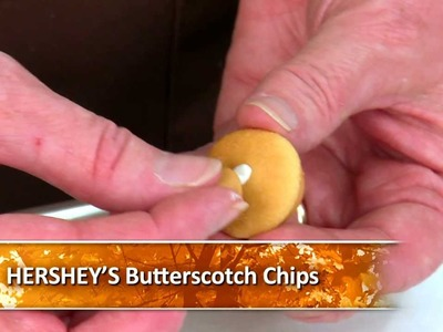HERSHEY'S Halloween Recipes and Crafts - KISSES Acorn Treats