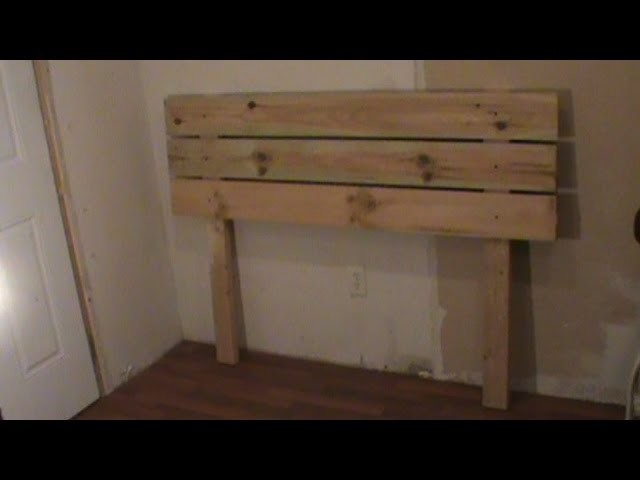 How To Build A Contemporary Head Board For Under $10 ( For Your Platform Bed Build )