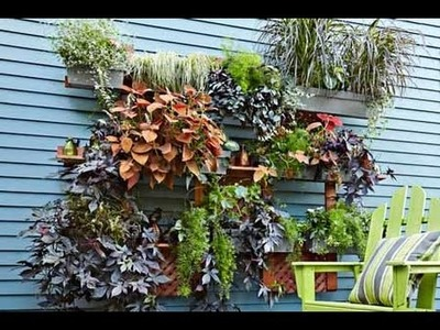 How to Build a Living Wall Vertical Garden - This Old House