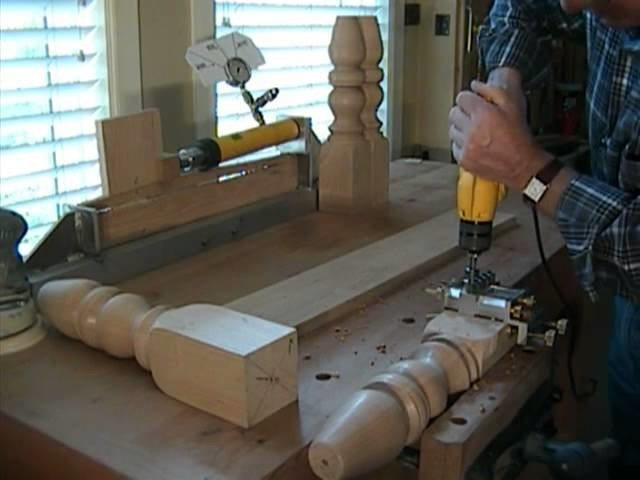 How to Build Coffee Table using Dowelmax Part 2 - Joining the Table Rail to the Leg