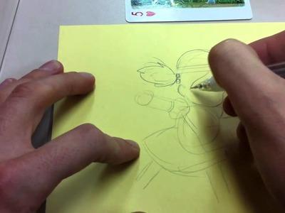 How to Draw Mei-chan My Neighbor Totoro Studio Ghibli