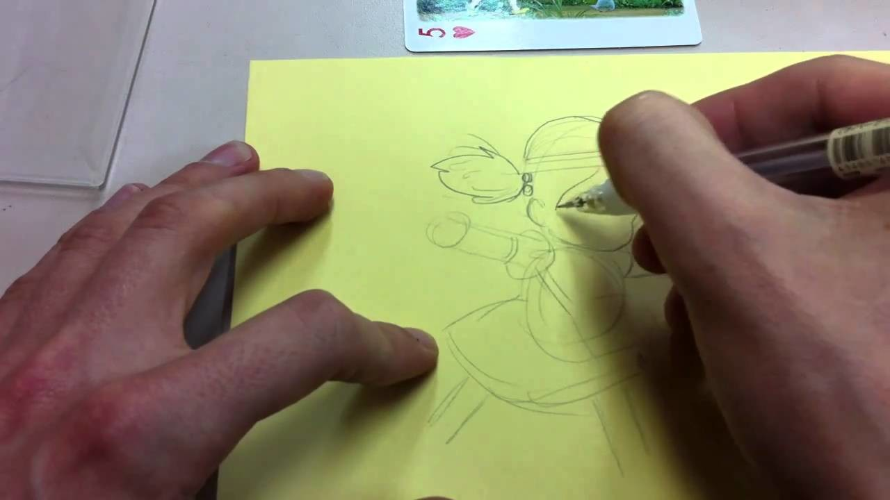 How to Draw Mei-chan My Neighbor Totoro Studio Ghibli