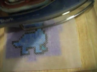 How to Iron a Perler Bead!!