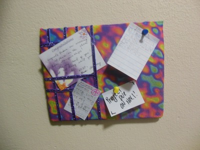 How To Make a Doll Message Board