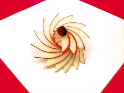 How to Make a Rosette with an Apple (HD)