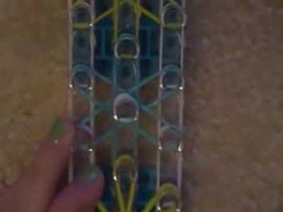 How to make a starburst rainbow loom bracelet