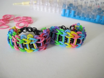 How to make Rainbow Loom :Rainbow Ladder Brcelet