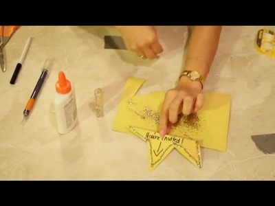How to Make Starshaped Birthday Invitations for Teens : Decoration Crafts