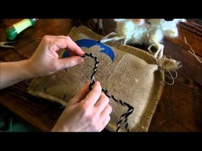 How to Needle Felt: Sheep and Lamb 1 by Sarafina Fiber Art