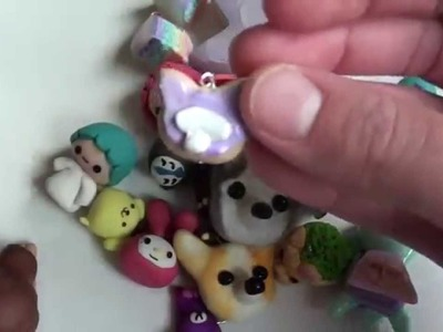 Kawaii Polymer Clay Charm Collection