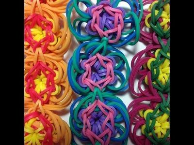 Made by Mommy's Daisy Chain Bracelet on the Rainbow Loom