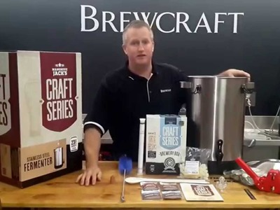 Mangrove Jack's Craft Series Starter Brewery Kit