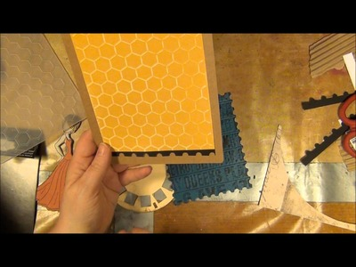 Paper crafting with doll stamps from prima and the making of a fourth project