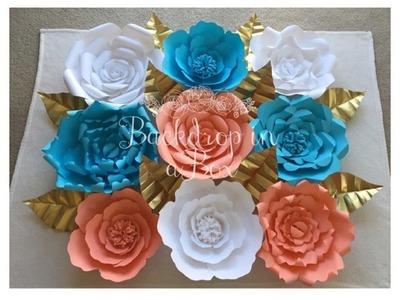 Paper Flower Rose Part 1