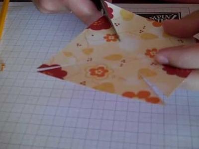 Pinwheels with Stampin Up Designer Paper