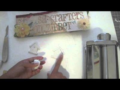 Polymer clay birdhouse tutorial