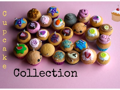 Polymer Clay Cupcake Collection Kawaii Handmade Charms