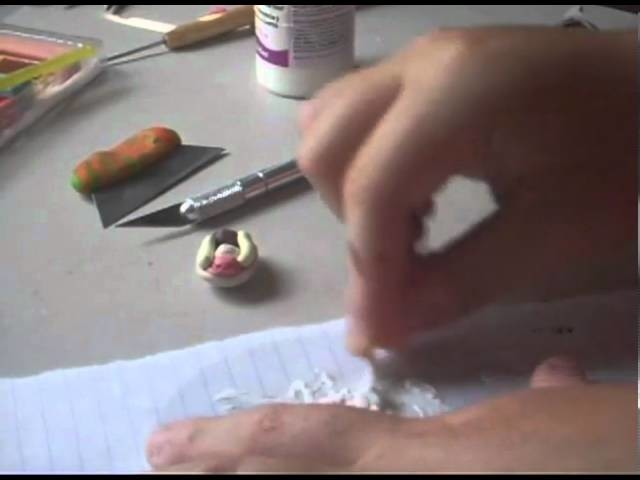 Polymer Clay Tutorial-  Ice-Cream Sundae