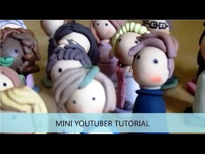 Polymer Clay YouTuber Tutorial!!
