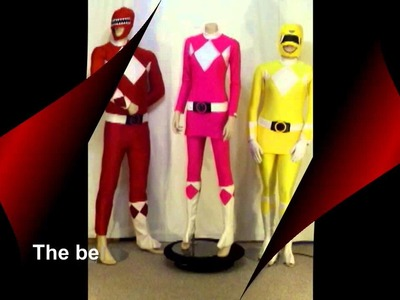 Power Ranger costume pink and yellow made by Annette in Australia