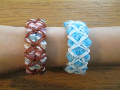 Rainbow Loom- Ana Bracelet (Original Design)