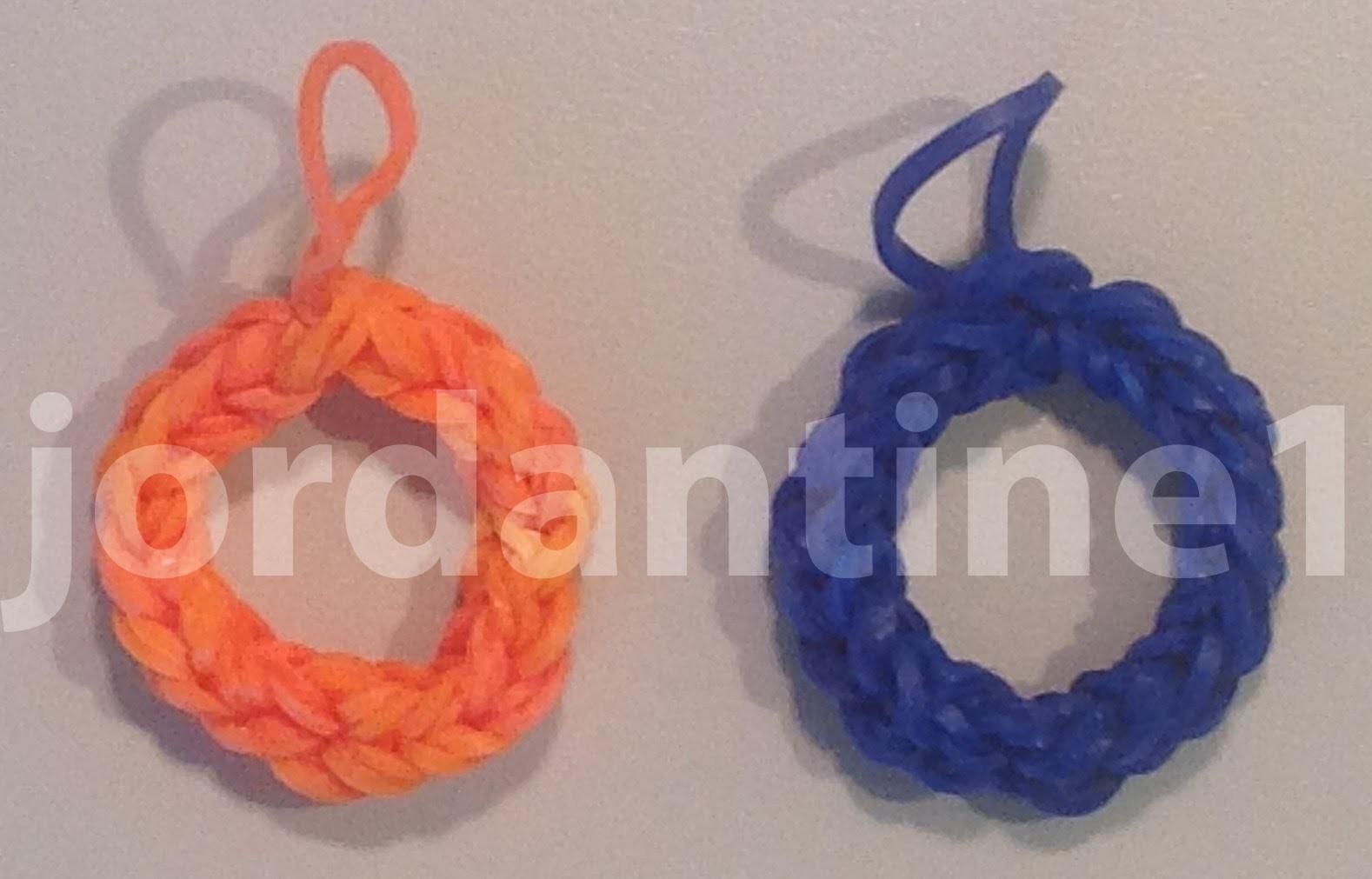 Skinny Letter O Alphabet Charm - Rainbow Loom, Wonder Loom
