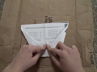 Some Folding Techniques. Make your own paper airplane design!