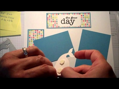 Stampin' Up! Stamping and Scrapbooking Sunday Series:  Summer Fun and Beach Pages