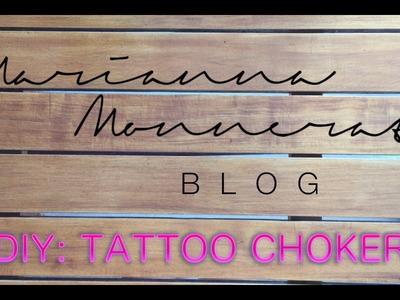 Tutorial DIY: Tattoo Choker
