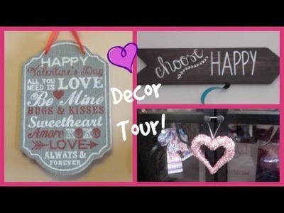Valentine's Day Home Decor Tour!