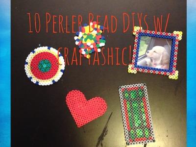 10 Fun and Easy Perler Bead DIYs! Collab w. craftashic!