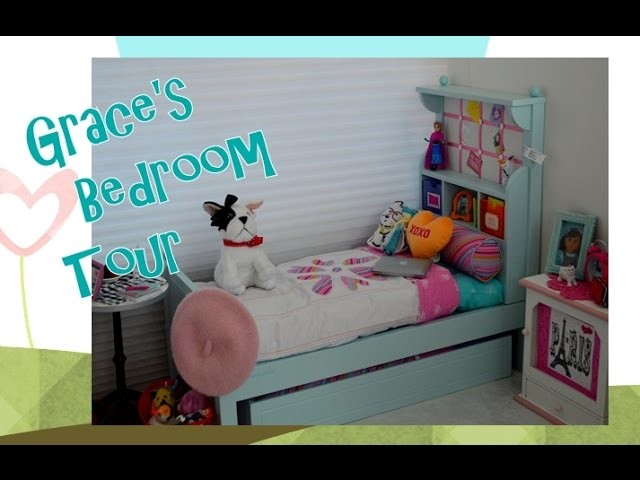 American Girl Doll ~ Setting up Grace's Bedroom Tour ~ Disney Frozen