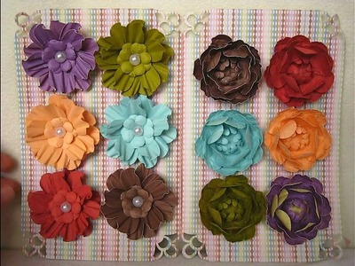 Beautiful flower sets for Cathy!!