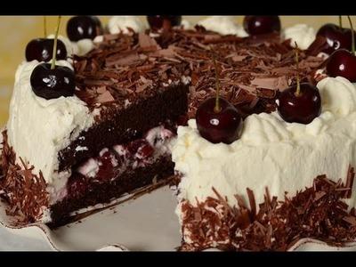 Black Forest Cake Recipe Demonstration - Joyofbaking.com