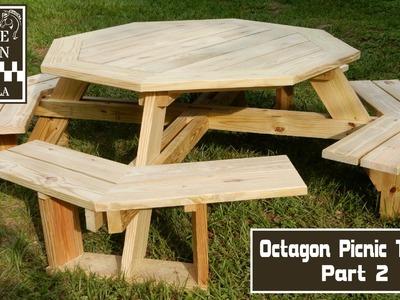 Build an Octagon Picnic Table Part 2
