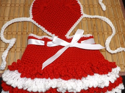 Crochet Valentine's Day Dress