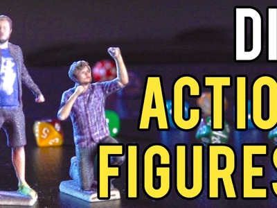 DIY Action Figures with 3D printing!