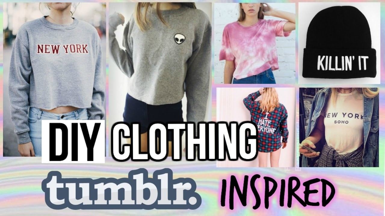 DIY Fall.Winter Clothing| TUMBLR and BRANDY MELVILLE Inspired