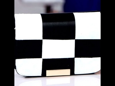 DIY Fashion | How to Make a Checkered Bag